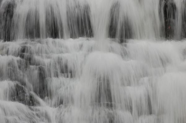 Laurel Falls, Laurel Creek of the Doe River, TN, with Guests (10/2009)