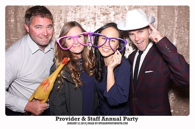 1-12-2019 Provider & Staff Annual Party