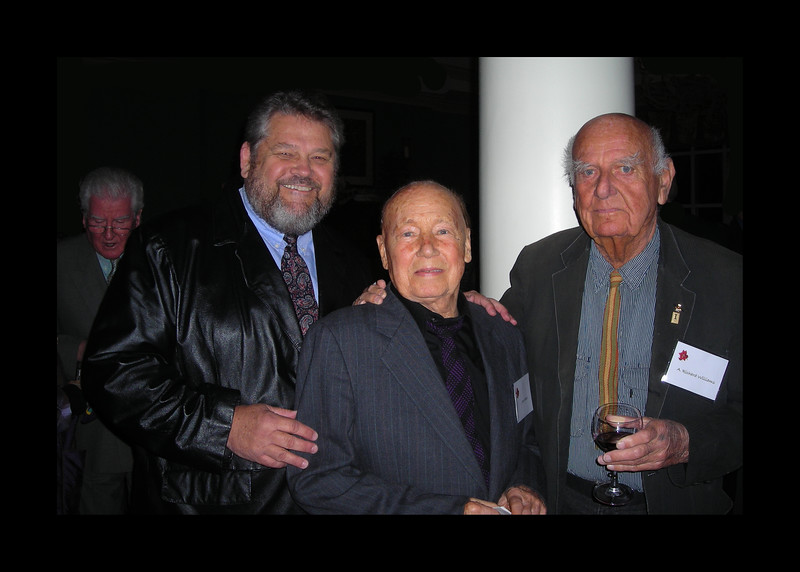 Jim with Jack Baker, Dick Williams and Alan Forrester - 2008.jpg