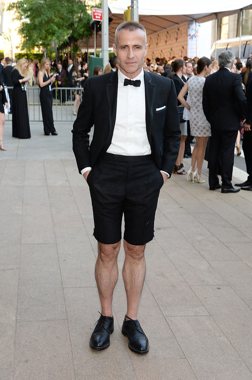 . Designer Tom Brown attends the 2014 CFDA fashion awards at Alice Tully Hall, Lincoln Center on June 2, 2014 in New York City.  (Photo by Mike Coppola/Getty Images)