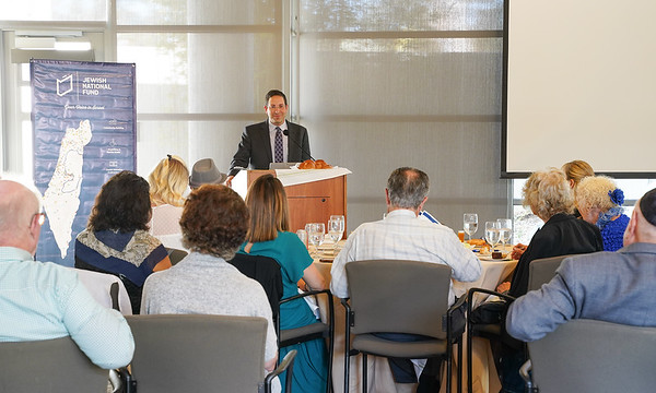 San Diego Planned Giving Luncheon: Israel: The Strength of a Nation in the Middle East