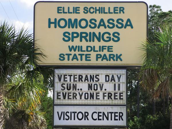 Homosassa Springs State Wildlife Park