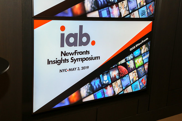 IAB New Fronts Symposium 5.3.19