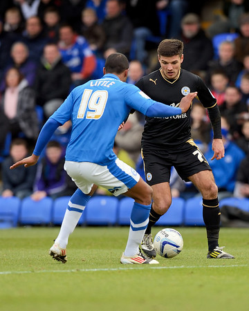 Peterborough United 2 - 1 Leicester City 09.02.13  NO FOOTBALL IMAGES FOR SALE OR REPRODUCTION