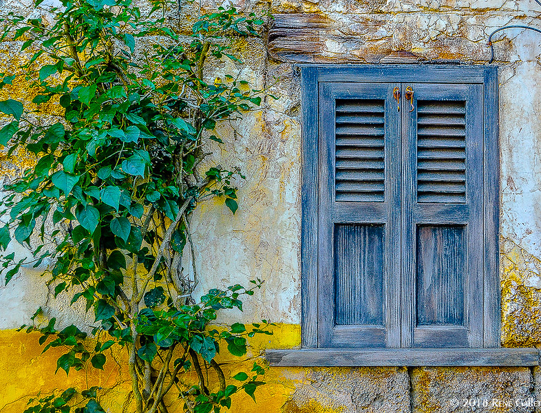 Blue Shutters  - Haranbe