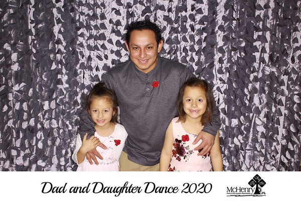 """McHenry Parks & Recreation Department """"Dad & Daughter Dance 2020"""""""