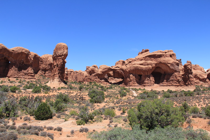 20180716-066 - Arches NP - Parade of Elephants and Double Arch.JPG