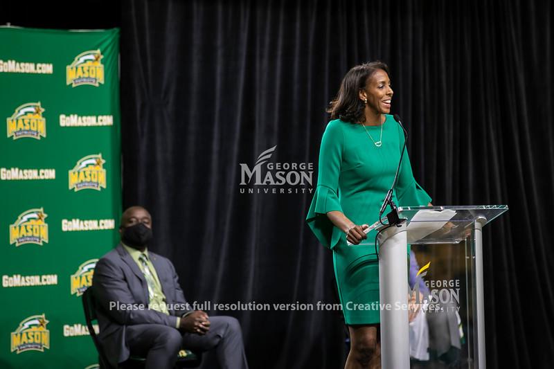 Vanessa Blair-Lewis Press Conference