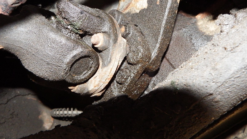 Differential Output shaft leaking