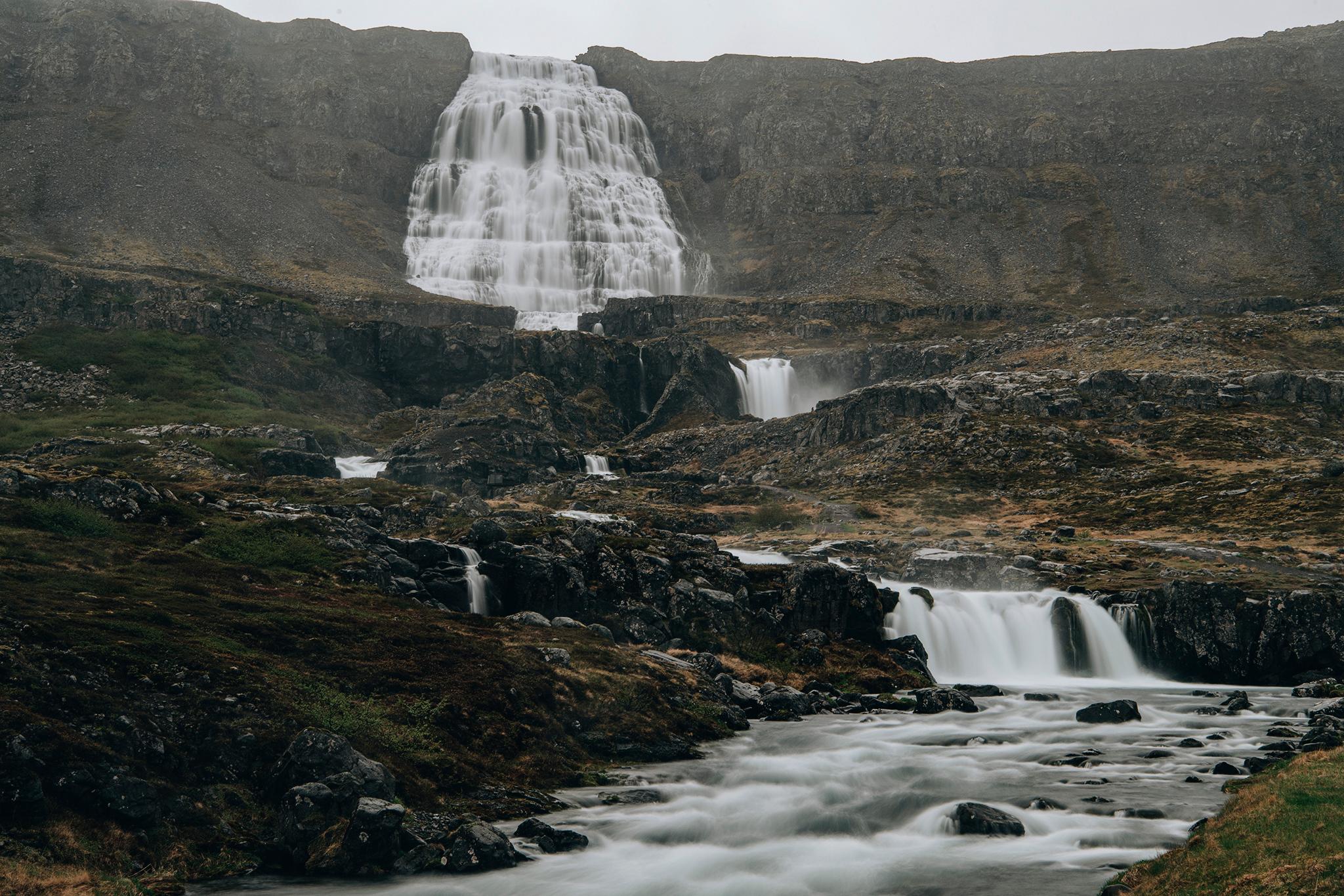 冰島攻略, 冰島婚紗, Donfer, Iceland Pre-Wedding, Dynjandi, 丁堅地瀑布