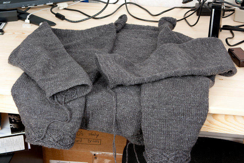 Avast (sweater for Dan).