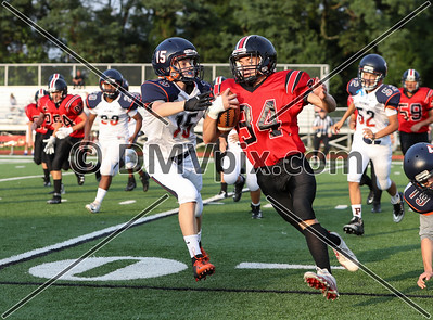Potomac School JV @ Mason Freshman Football (20 Sep 2018)