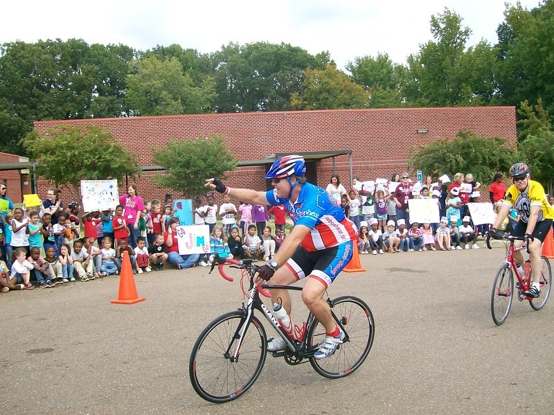 Jim at Shadow Oaks Elementary in Horn Lake