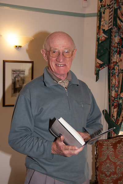 Colin Holmes, Christmas 2007, Hytten Avenue, Bruce ACT.