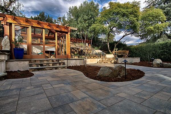 Texana - Backyard Landscape Design