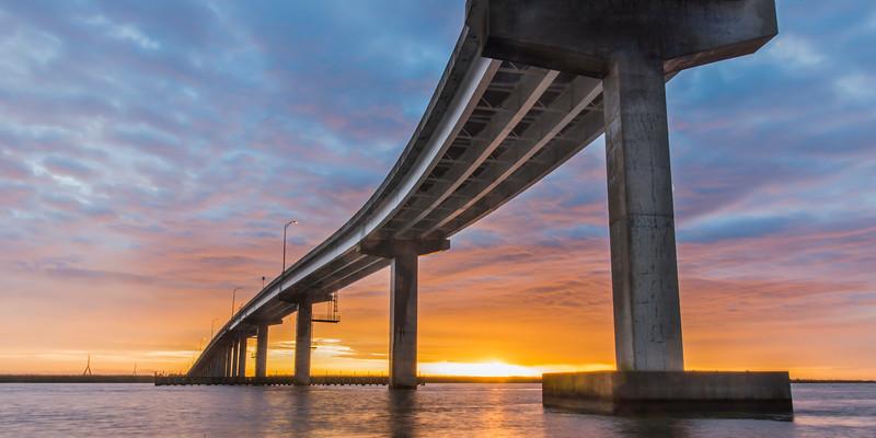 319 Bridge at Sunrise