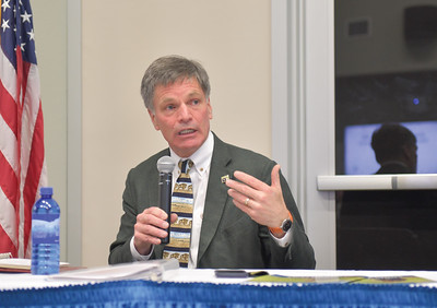 Gov. Mark Gordon visits Sheridan (4-16-19)
