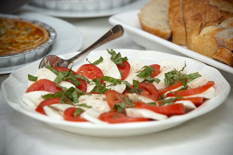 Basil, mozarella, tomato...a classic