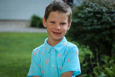 Luke's First Day of First Grade