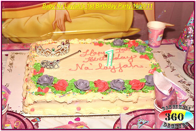 Baby Na'Layjah's 1st Birthday Party @ Coco's Place 10-30-11