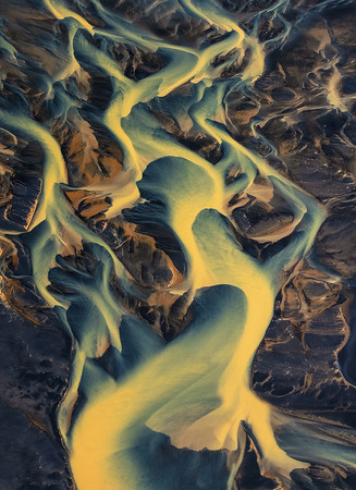 NEW RELEASE!!!  Iceland - Views From Above - Natures Paintbrush