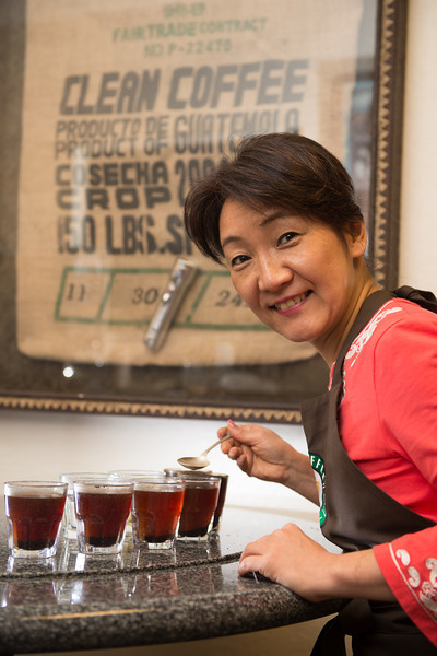 Rie Coffee Cupping