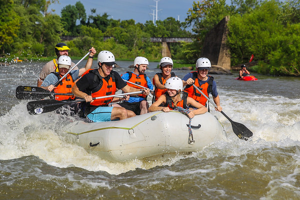 River City Adventures 7-30-16 Afternoon Trip