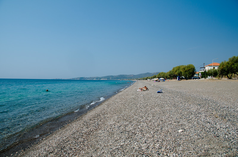 Vatera Beach, Lesvos, Greece