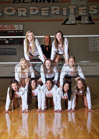 2012 Blaine High School Volleyball