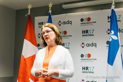 Minister Jane Philpott Media Scrum