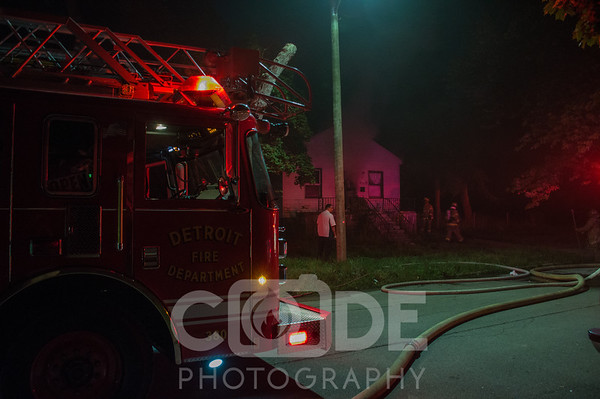Vacant House Fire (8/20/16)