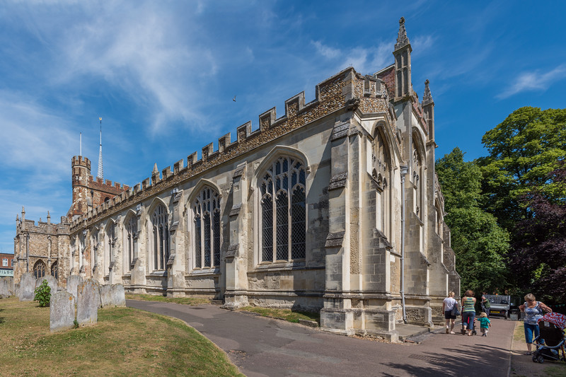 St Mary's Church, Hitchin, Hertfordshire