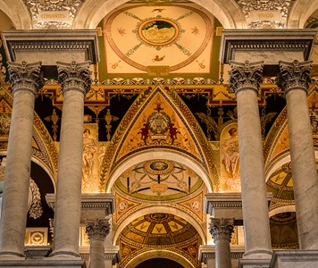 Library of Congress, DC - February