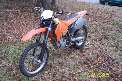2001 KTM 520 EXC