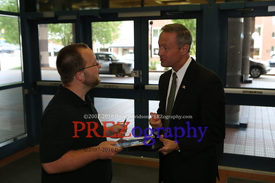Martin O'Malley Historical Society 7-24-15