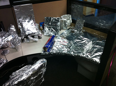 Foiled cubicle 2011