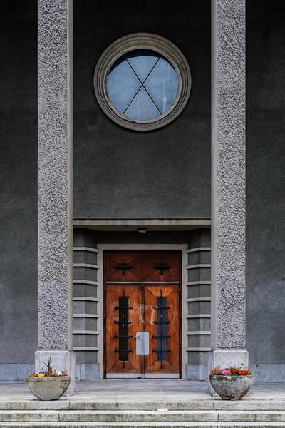 A temple in Geneva