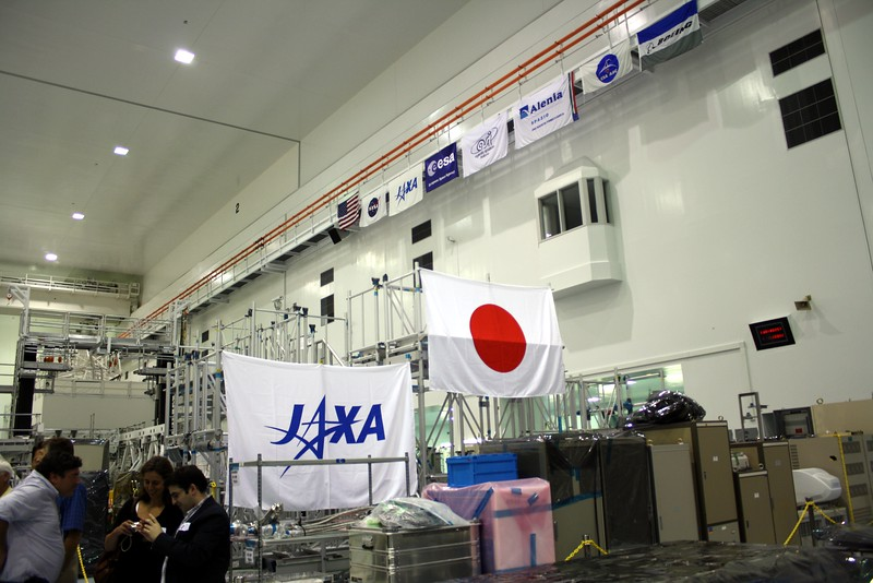 Parts of the Japanese Experimental Module Kibō, developed for the International Space Stationby the Japan Aerospace Exploration Agency (JAXA)
