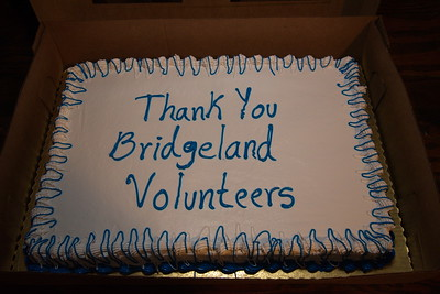 Bridgeland Volunteer Appreciation Dinner:  January 19, 2006