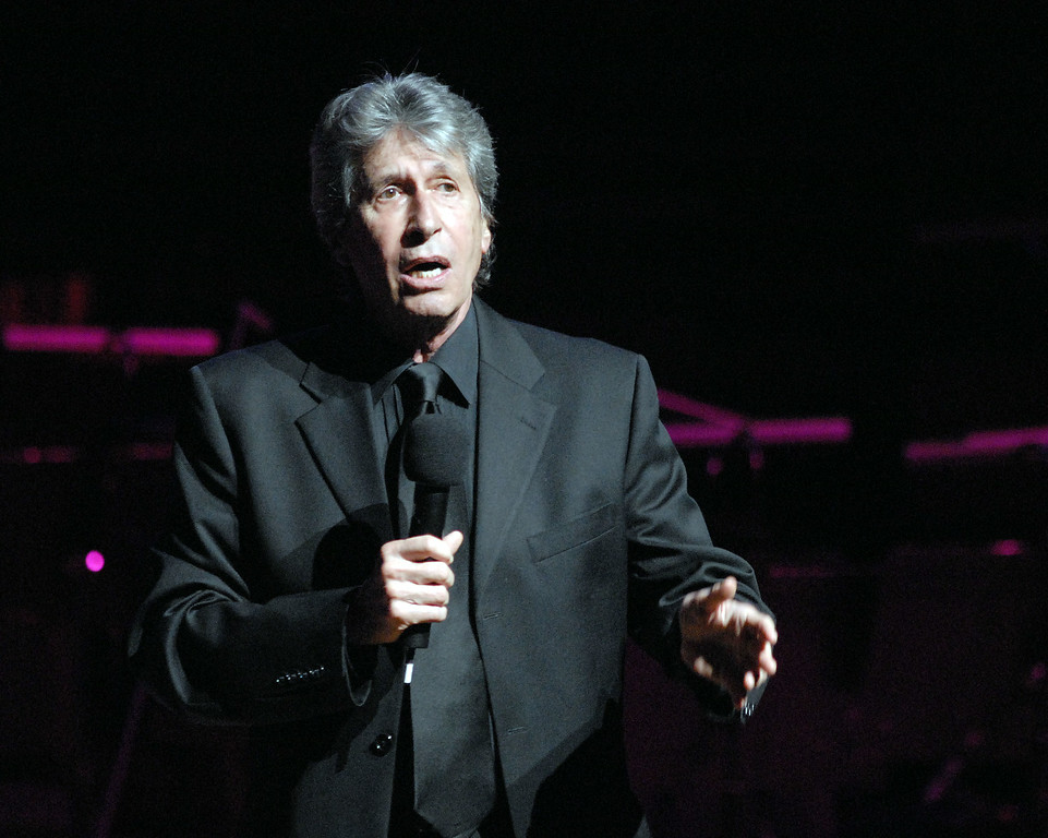 . Comedian David Brenner performs at the Gala Concert where his friend, Bill Cosby, Ed.D. was presented with the Marian Anderson Award April 6, 2010, at The Kimmel Center for the Performing Arts in Philadelphia, Pennsylvania. Brenner died on Saturday, March 15, 2014. He was 78.   http://bit.ly/1pHsvAH  (Photo by William Thomas Cain/Getty Images)
