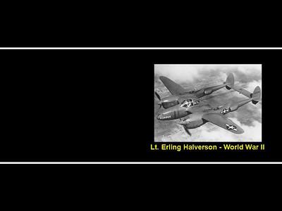 Erling Halverson WWII