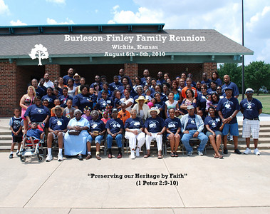 Burleson Finley Family Reunion August 6-8, 2010