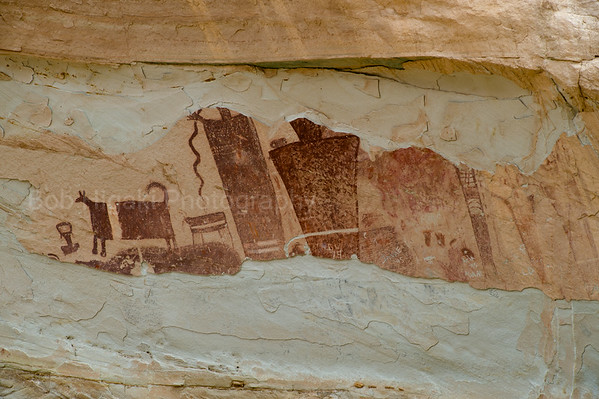 Temple Mountain Wash Pictograph