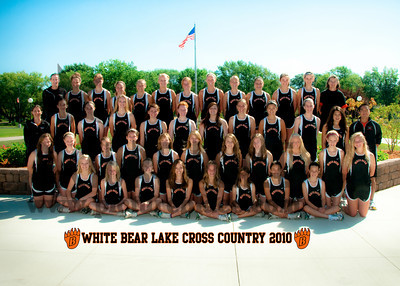White Bear Girls Cross Country 2010-2011