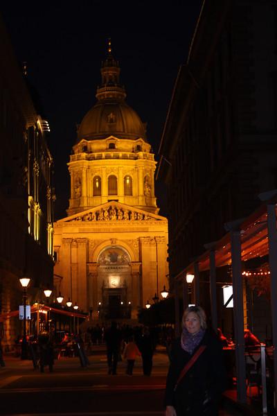 St. Stephens at night