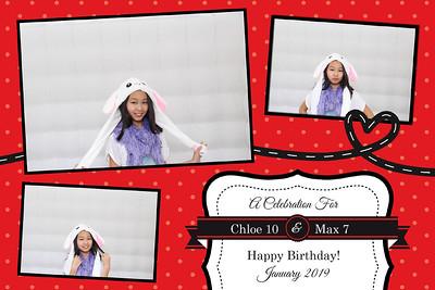Happy Birthday Chloe & Max