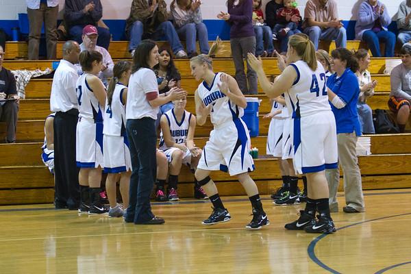 Auburn Girls Basketball vs Cave Springs - 12-5-2011