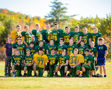 2018-10-12 OHMS Football Team Photos