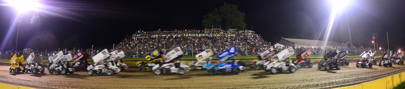Cedar Lake Speedway-World of Outlaws, June 30th, 2013