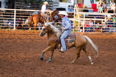 Friday Calf Roping Old Settlers 123rd.